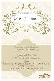 wedding invitations wording sles 25th wedding anniversary invitation card sles style by