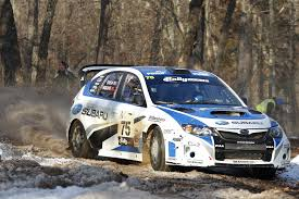 rally subaru snow higgins and drew claim first rally in the 100 acre wood victory