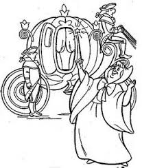 coloring pages coloring pages cinderella u0027s carriage allcolored