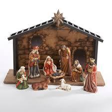 s adler 10 pc nativity set