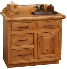 Best 25 Black Bathroom Vanities by Custom Rustic Alder Wood Log Cabin Lodge Bathroom Vanity Black
