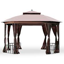 gazebo covers octagon canopy gazebo big lots gazebo replacement canopy covers