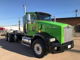 2010 kenworth trucks for sale 2010 kenworth t800 day cab truck cummins 450hp tri axle 10 speed