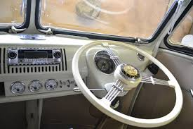 volkswagen van wheels vw samba dashboard mollie the samba