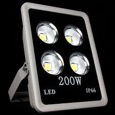 200w led flood light 1pcs 200w cob led flood lights waterproof ip65 floodlight led