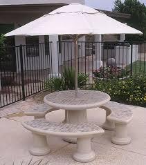 Patio Furniture Huntsville Al Concrete Landscape Tables Outdoor Concrete Tables Phoenix