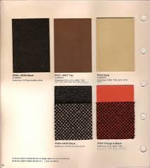 the 1970 hamtramck registry 1971 plymouth color u0026 trim book