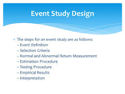 Design Event Definition | event studies lect 4 5 by m fahad siddiqi ppt video online download