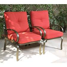 Patio Club Chair Cloud Mountain Set Of 2 Patio Club Chairs Outdoor