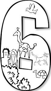impressive outline number coloring pages with number 1 coloring