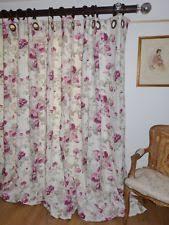 Laura Ashley Baroque Raspberry Curtains Laura Ashley Linen Blend Floral Curtains U0026 Pelmets Ebay