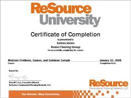 examples of certificates of completion sample certificates expin memberpro co