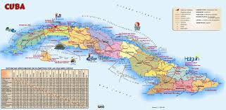 Cuba On A Map Cuba Maps Maps Of Cuba
