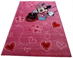 Chambre Enfant Minnie - tapis chambre fille