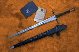 the eindride lone wolf sword 1545 darksword armory