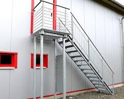 bausatz treppe verzinkte bausatztreppen schnellbautreppen
