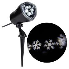 gemmy led lightshow whirl a motion projector snowflake 37297
