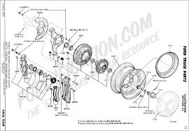 ford f250 brakes ford truck technical drawings and schematics section b brake