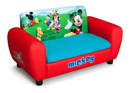absolutely smart mickey mouse toddler chair upholstered sofa with storage delta children s s