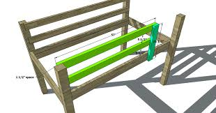 Plans For Making A Loft Bed by Free Woodworking Plans To Build A Twin Low Loft Bunk Bed The