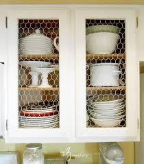 Chicken Wire Cabinet Doors Kitchen Cabinet Facelift Part 1 Chicken Wire Kitchens And