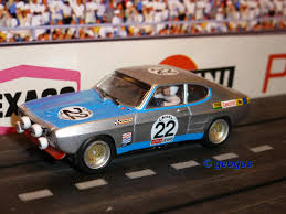 Ford Capri 1971 The World Of Geogus H0 Slotcars Slotcar Gallery Bauer