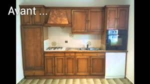 renover meubles de cuisine renovation cuisine en image avant aprés