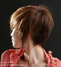 images of back of head short hairstyles short asian hairstyle with a clipped up back