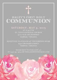 First Communion Invitations Cards First Communion Invitation From Http Replybyoccasions Etsy Com