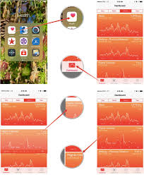 how to reorder data in the health app for iphone imore