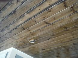pine car siding stained porch ceilings pinterest car side