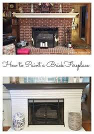 brick fireplace update by leslie stocker fireplaces brick