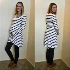 me made striped tunic and leggings heather handmade