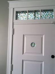 Bathroom Peep Holes Masonite 30 In X 80 In Mdf Series Smooth 5 Panel Equal Solid