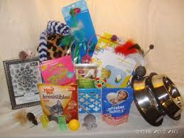 las vegas gift baskets talk to the paw cat gift baskets