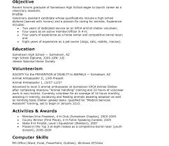 resume template sle student of the month hs resume template for highschool students high regarding