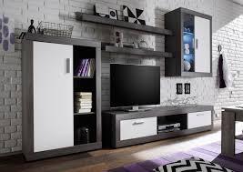 Wohnzimmerm El Mit Led Wohnwände Mit Beleuchtung Online Kaufen Baur