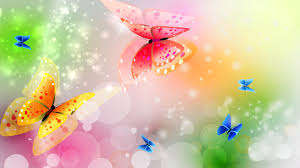 images of colorful butterfly designs background fan