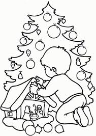 children christmas coloring pages coloring