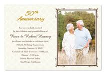 50th anniversary invitations golden anniversary invitations