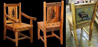 rustic dining room chairs bradley s furniture etc utah rustic dining room furniture