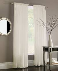 Window Curtains Miller Curtains Sheer Poletop Window Treatment Collection