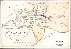 Corinth Greece Map by Herodotus