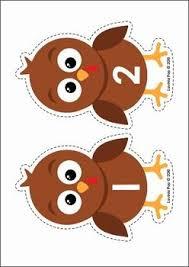 thanksgiving turkey numbers center activity worksheet free
