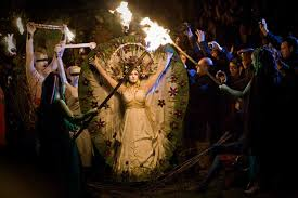 the pagan wheel of the year what elaborate rituals and events