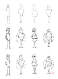 character shape sketching 2 with video link by luigil deviantart