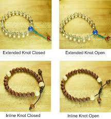 bracelet knots images Cord bracelet knot style custom mala shop jpg