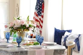american country home decor french country summer table with patriotic decor french country