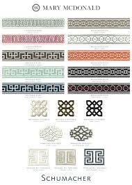 schumacher design 253 best fabric trim images on fabric wallpaper