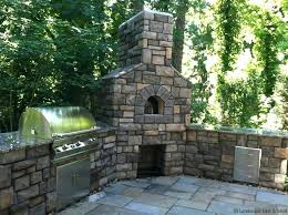 Outdoor Fireplace With Cooking Grill by Outdoor Fireplace Grill Grate Stone Backyard With Cooking Costco